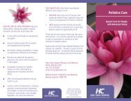 General Palliative Care Brochure 3.qxp - Holy Cross Hospital