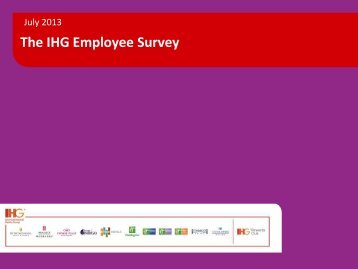 The IHG Employee Survey - IHG Owners Association