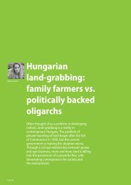hungarian land-grabbing: family farmers vs. politically backed ...