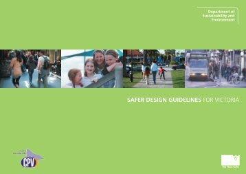 Safer Design Guidelines -text - Community Crime Prevention