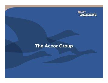 The Accor Group - ITP.net