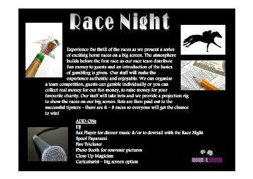 Race Night - Doub7e Seven