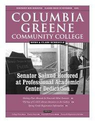 2006 Mini Newsletter - Columbia-Greene Community College