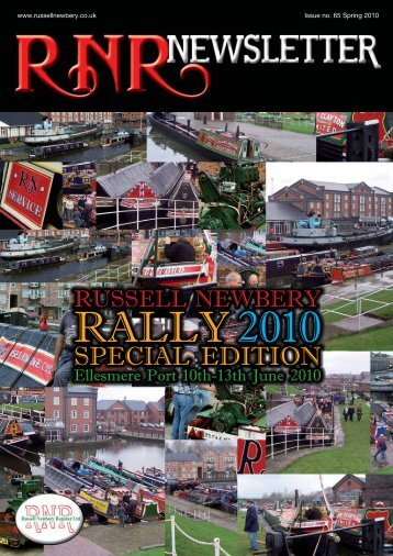 Issue 65, Spring 2010 - Russell Newbery Register