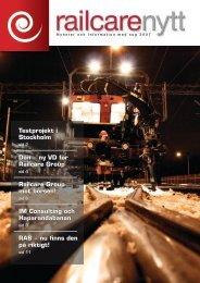 Railcarenytt 2007 (SWE)