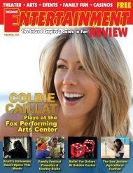 Fox Performing Arts Center - Inland Entertainment Review Magazine