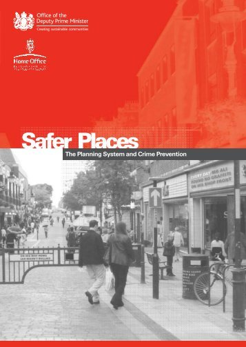 Safer Places - Secured by Design