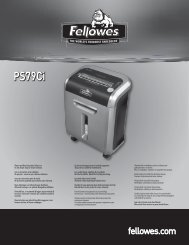 PS79Ci PS79Ci - Fellowes