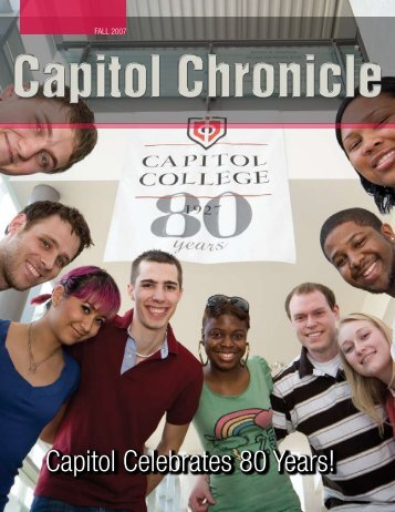 Capitol Celebrates 80 Years! - Capitol College