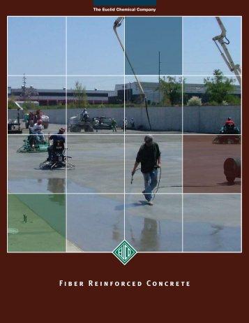 Fiber Reinforced Concrete Brochure - Euclid Chemical Co