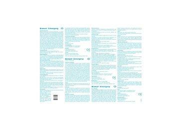 Istr. BIONECT Silver Tipo1 Ed.II.ai - CSC Pharma