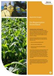 Factsheet Biogasregister - beim Biogasregister Deutschland!