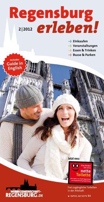 Heft - Werbegemeinschaft Regensburg