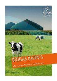 BIOGAS KANN'S - Biogas kann's