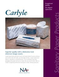 Sanitary Paper Products - Welcome to North American