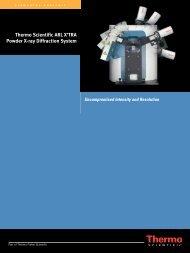 ARL X'TRA Brochure - Thermo Scientific