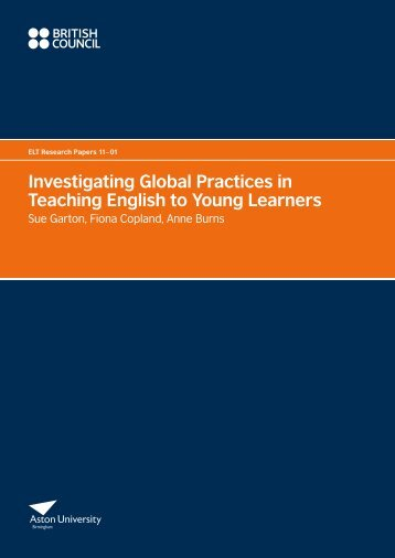 Investigating Global Practices in Teaching English to Young Learners