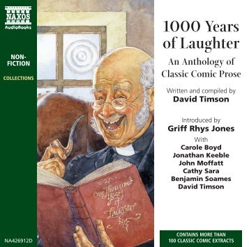 1000 Years of Laughter Booklet - Naxos Spoken Word Library