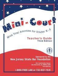 Mini-Court Teacher's Guide - NJSBF.org