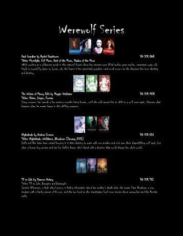 Werewolf Series - City of Wylie