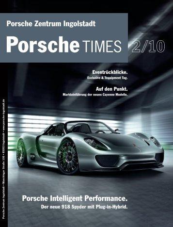 Markteinführung der neuen Cayenne Modelle. - Porsche Zentrum ...