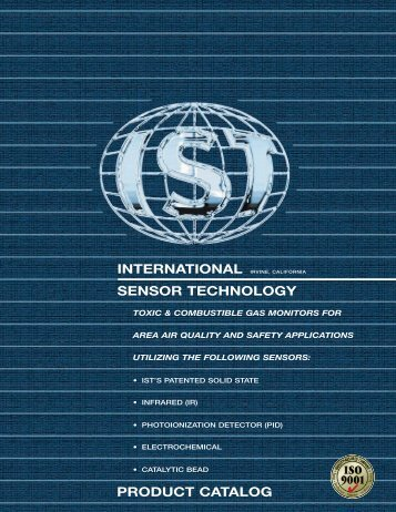Products Brochure (PDF) - International Sensor Technology
