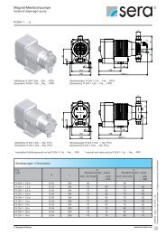 Datenblatt Magnet-Membranpumpe R204.1 - Seybert & Rahier ...