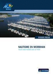 Nautisme eN morbihaN - Conseil général du Morbihan