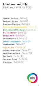 Berlin leuchtet Guide (PDF) - Seite 5