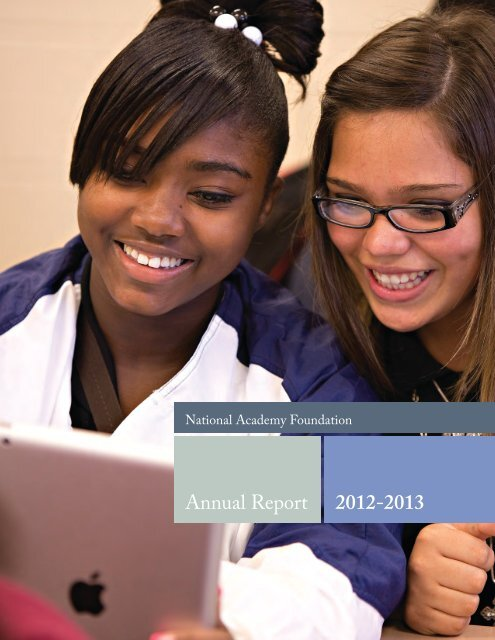 Annual Report 2012-2013 - National Academy Foundation