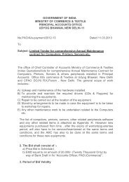 Limited Tender for comprehensive Annual Maintenance contract for ...