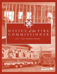 2011-2012 Annual Report - Office of the Fire Commissioner ...