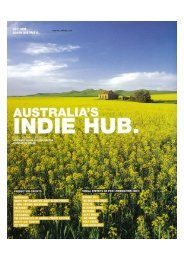 Australia's Indie Hub - South Australian Film Corporation