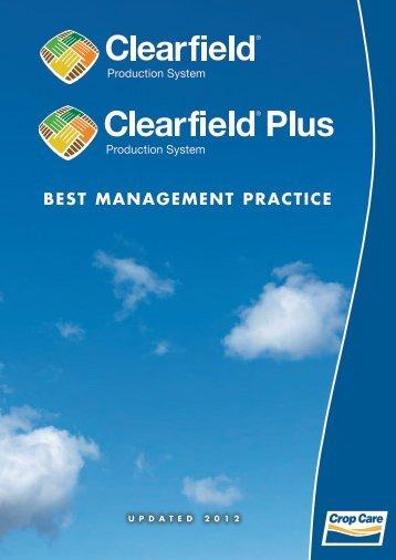 BEST MANAGEMENT PRACTICE - Crop Care Australasia