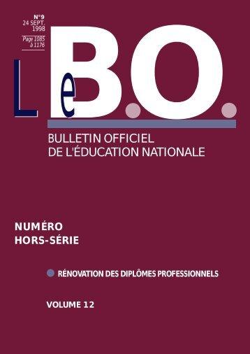 volume 12 - Ministère de l'Éducation nationale