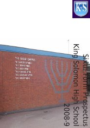 The Course - King Solomon High School