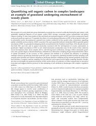 Quantifying soil organic carbon in complex landscapes: an example ...