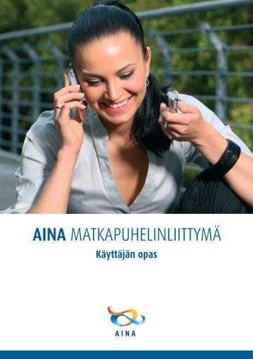 Käyttäjän opas (pdf) - Aina Group