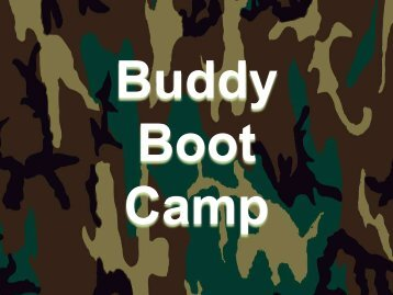 Buddy Boot Camp