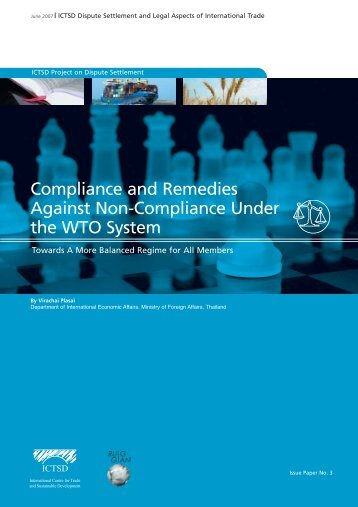 Compliance and Remedies Against Non-Compliance ... - RUIG-GIAN