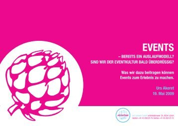EVENTS - Event Management Circle