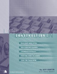Under Construction: Building Web Sites as a Project-based ...