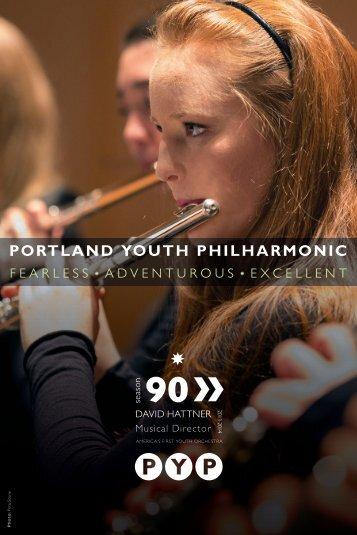 PORTLAND YOUTH PHILHARMONIC - The Portland Youth ...