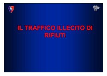 il traffico illecito di il traffico illecito di rifiuti - Sistema delle autonomie ...