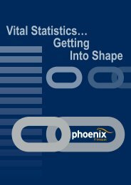 Vital Statistics… Getting Into Shape