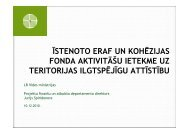 Prezentacija VIDM_VRAA_101210 - Valsts reģionālās attīstības ...