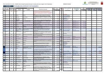 31.01.2013 programma degli interventi e dei - Autorità di Bacino del ...
