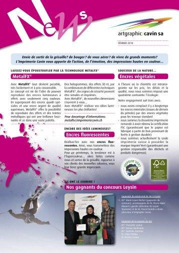 Metalfx® nos gagnants du concours Leysin encres végétales ...
