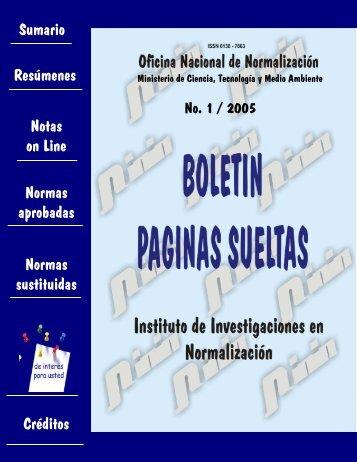 1 - Boletín Páginas Sueltas