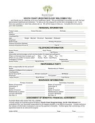 Patient Registration Forms - Urogyn.org